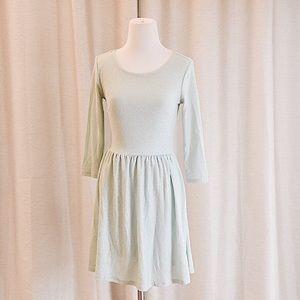 Dresses & Skirts - Baby Blue Glitter Skater Dress